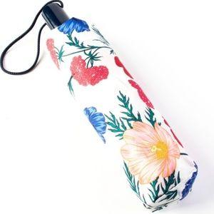 NWT Kate Spade Blossom Travel Umbrella NEW Floral